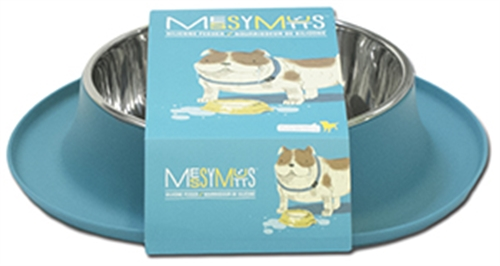 Single Bowl Silicone Feeders by Messy Mutts