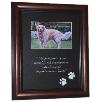 Wooden Memorial Frame