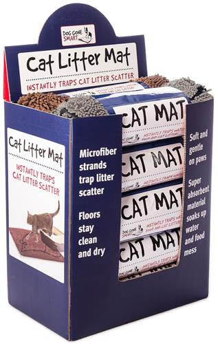 Cat Litter Mat Shipper Displays