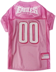 NFL Philadelphia Eagles Dog Jerseys Pink