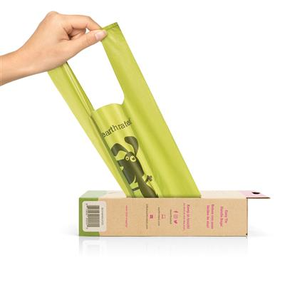 Poop Bags w/Handle by Earth Rated