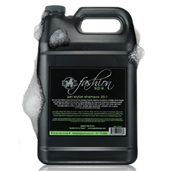 Pet Stylist/Groomer Shampoo, 20:1, gallon by Dog Fashion Spa