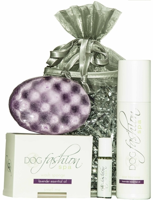 Lavender Essential Oil Gift Set by Dog Fashion Spa