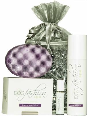 Lavender Essential Oil Gift Set by Dog Fashion Spa