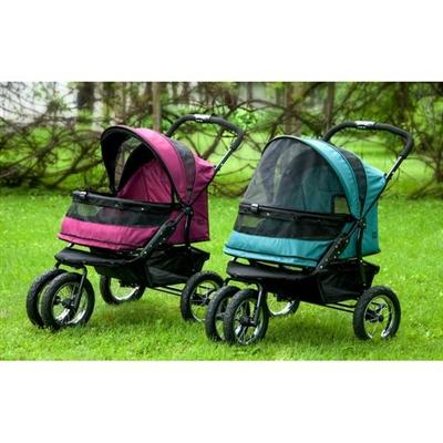 No-Zip Double Pet Stroller