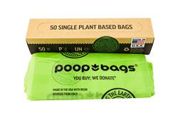 Compostable Flat Bags Made in the USA (36 units)
