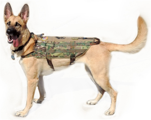 Tactical K9 Operator Harness