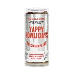 Yappy Howliday Sfizis - Lucky Duck 2oz Tubes