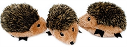 3 Pack Miniz Hedgehog by Zippy Paws