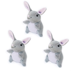 Zippy Paws - Zippy Miniz 3 Pack - Bunnies