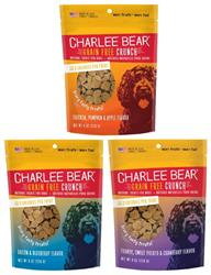 Charlee Bear® Grain Free Bear Crunch Treats 8 Oz. Pouch
