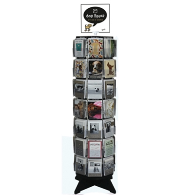56 Card Floor Spinner Display includes Cards
