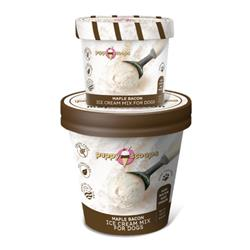 Puppy Scoops Ice Cream Mix - Maple Bacon 4.65 oz and 2.32 oz