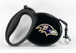 Baltimore Ravens Retractable Leash