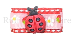 Baby Lady Bug Barrette by Ruff Ruff Couture®