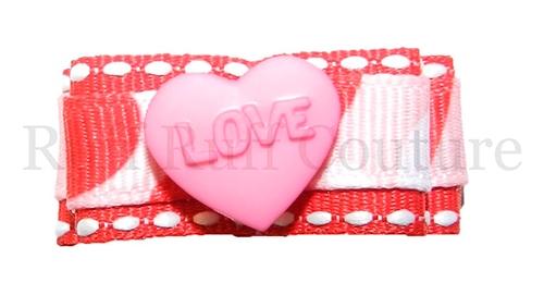 Love Struck Barrette by Ruff Ruff Couture®