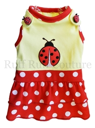 Baby Lady Bug Dress by Ruff Ruff Couture®