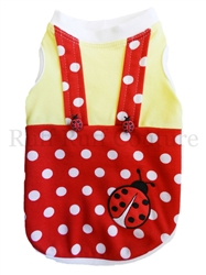 Baby Lady Bug Overalls by Ruff Ruff Couture®