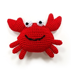 PAWer Squeaky Toy - Crab