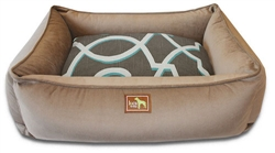 Coco Lounge Bed w/Jade Cover