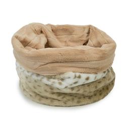 Snow Leopard Cuddle Pouch