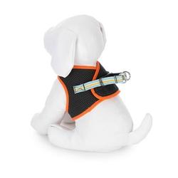 Orange Step-In Comfort Harness