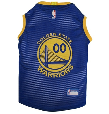 Golden State Warriors Dog Jersey