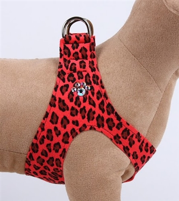 Crystal Paws Mango Cheetah Couture Step-In Harness