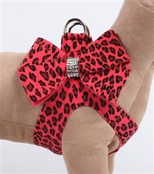Nouveau Bow Mango Cheetah Couture Step-In Harness