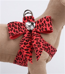 Tail Bow Mango Cheetah Couture Step-In Harness