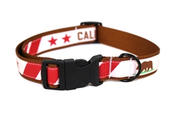Calfiornia Republic Dog Collar