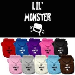 Lil Monster Screen Print Pet Hoodies