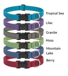 "LupinePet® 3/4"" Eco EZ pack, 6 pieces collars and leashes"
