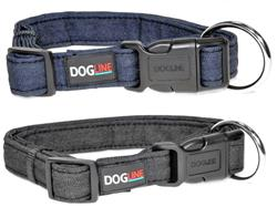 Dogline Denim Flat Collars