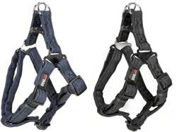 Dogline Denim Flat Step-In Harness