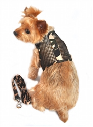 Camo Cool Mesh Velcro Harnesses with Matching Leash