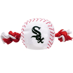 Chicago White Sox Baseball Toy - Nylon w/rope