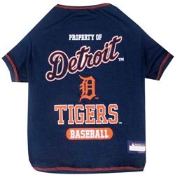 Detroit Tigers Dog Tee Shirt