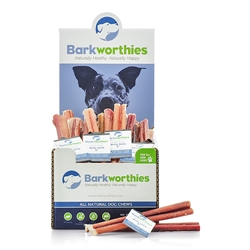 "Barkworthies - 06"" (Mini Case) Odor Free Bully Stick"