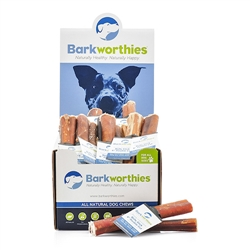 "Barkworthies - 06"" Double Cut (Mini Case) Bully Stick"