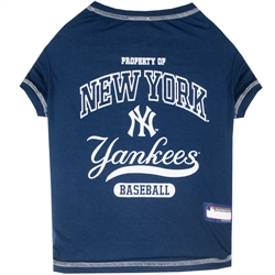 New York Yankees Dog Tee Shirt