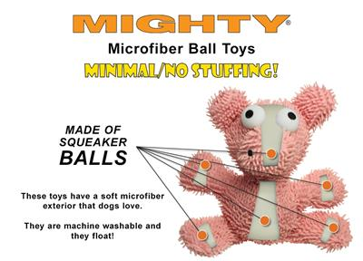 Mighty® Microfiber Ball - Pig