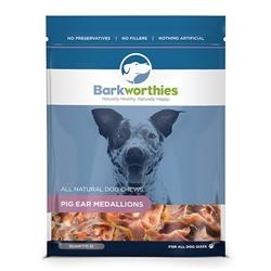 Barkworthies - Pig Ear Medallions (12-Pack SURP)