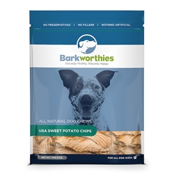 Barkworthies - Sweet Potato Chips (Net Wt. Min. 08 oz. SURP)