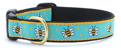 Bee Dog Collars and Leashes by Up Country
