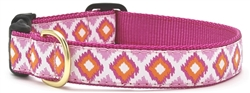 Pink Crush Dog Leashes and Collars by Up Country