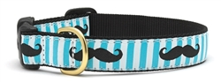 Mustache Collars and Leashes by Up Country