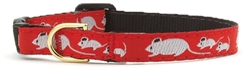 Up Country - Mouse Cat Collar