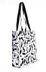 Elegant Cats Tote Bag