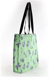 Cute Kittens Green Tote Bag